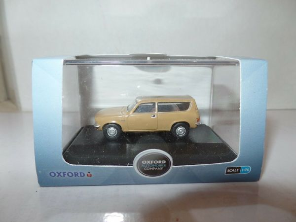 Oxford 76ALL003 ALL003 1/76 OO Scal BLMC Austin Allegro 1300 Estate Harvest Gold